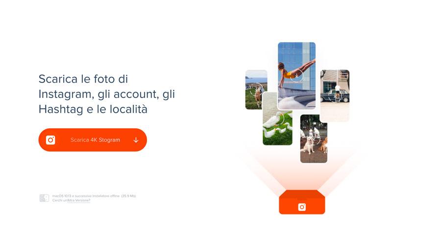 Scaricare foto da Instagram su pc e Mac con 4K Stograam