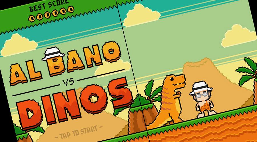 Albano contro i dinosauri diventa un Game