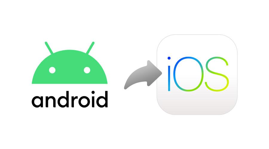 Trasferire i contatti da Android a iPhone
