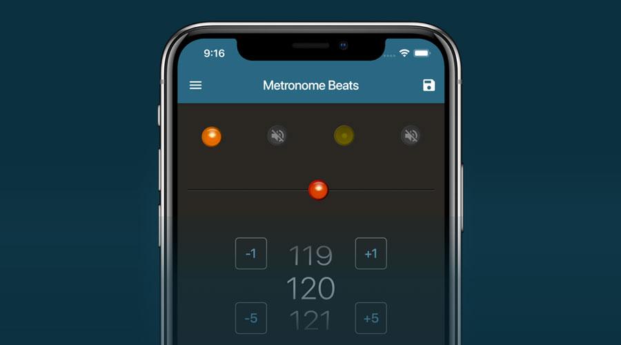 App metronomo per iOS e Android