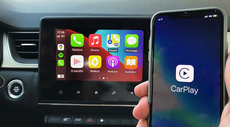 Utilizzare Siri in Auto