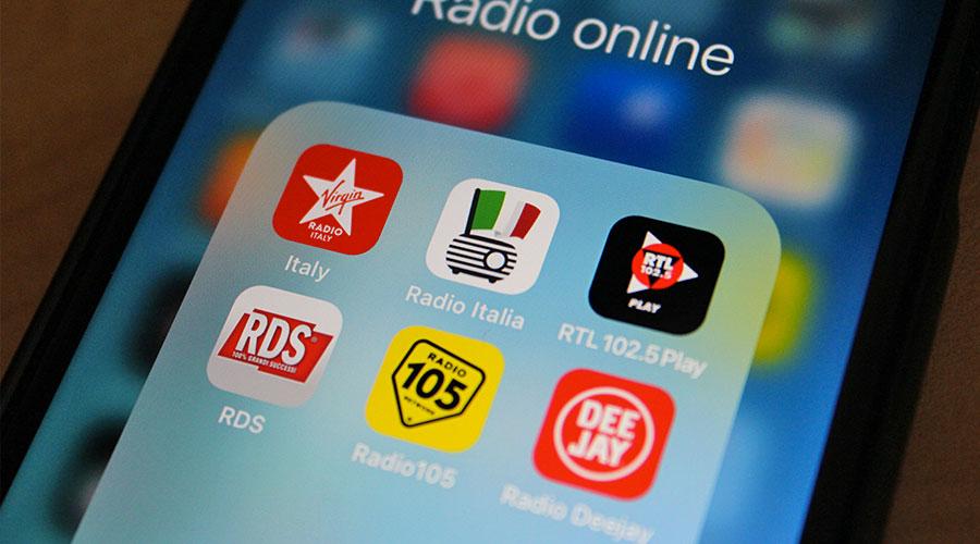 Ascoltare la Radio online in streaming con App