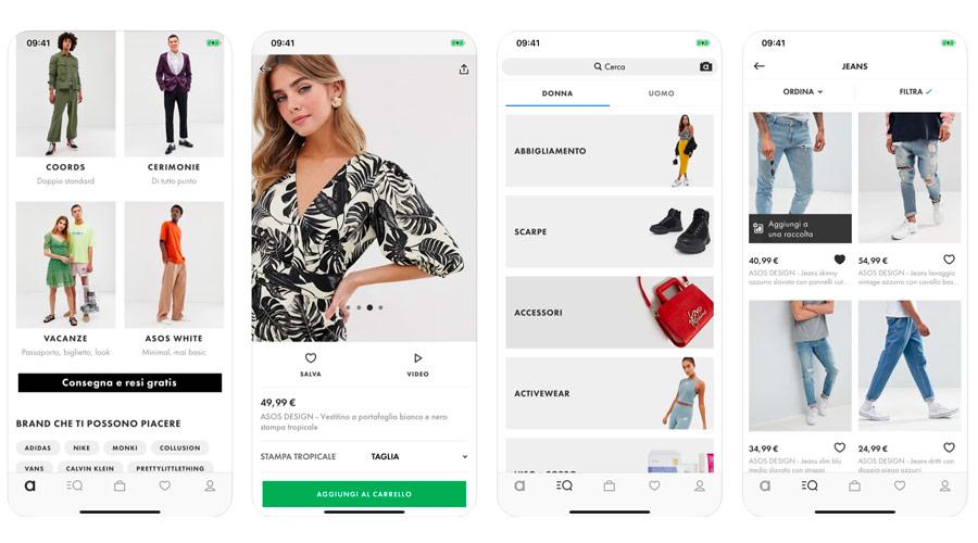 ASOS per acquistare abbigliamento di tendenza per uomo e donna
