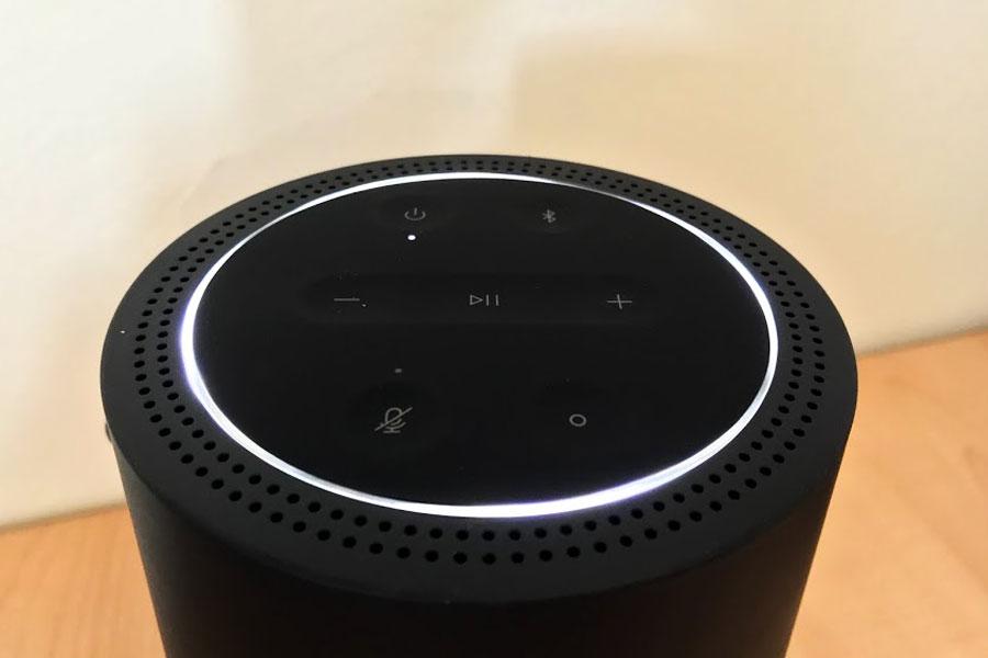 La plancia dei comandi del Bose Home Portable Speaker