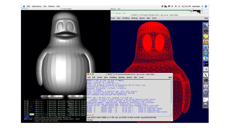 Programma di modellazione di disegno tecnico BRLCad