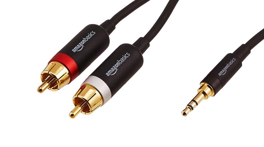 Cavo jack/RCA per collegamento audio