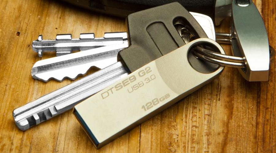 Chiavetta USB con anello