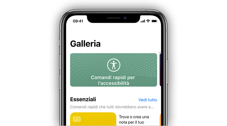 App comandi iOS