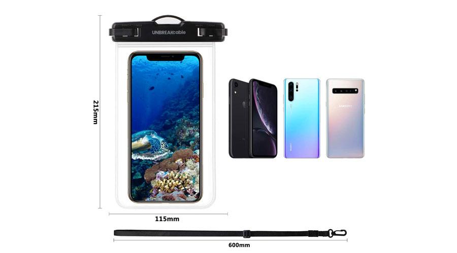 Custodia impermeabile iPhone per foto subacquee