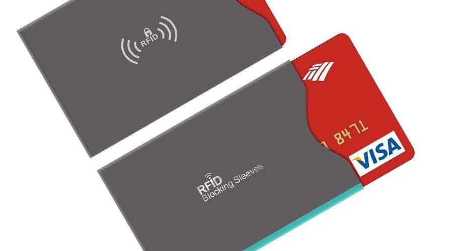 Custodia con protezione RFID