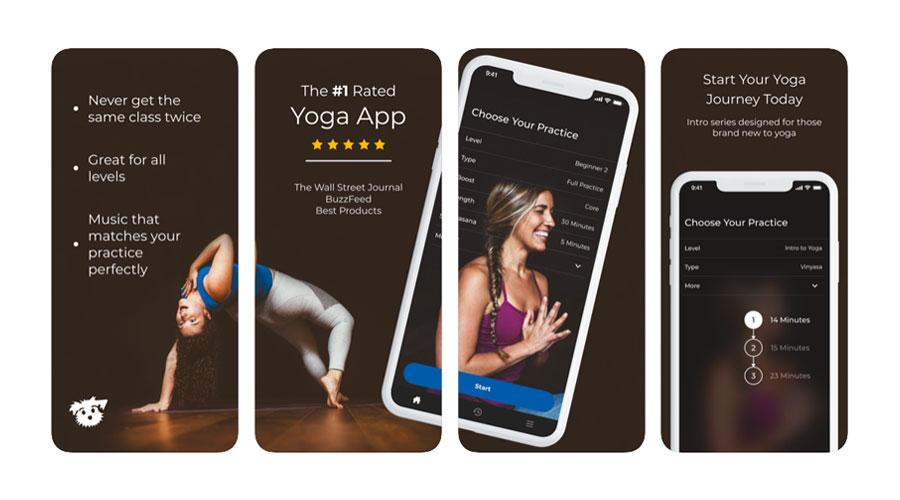 Down Dog App per fare Yoga su iOS e Android