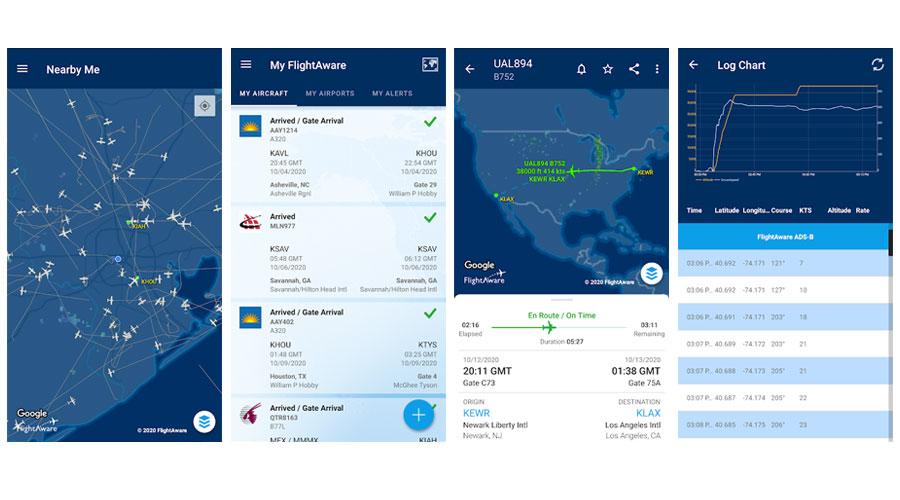 FlightAware Tracking Volo