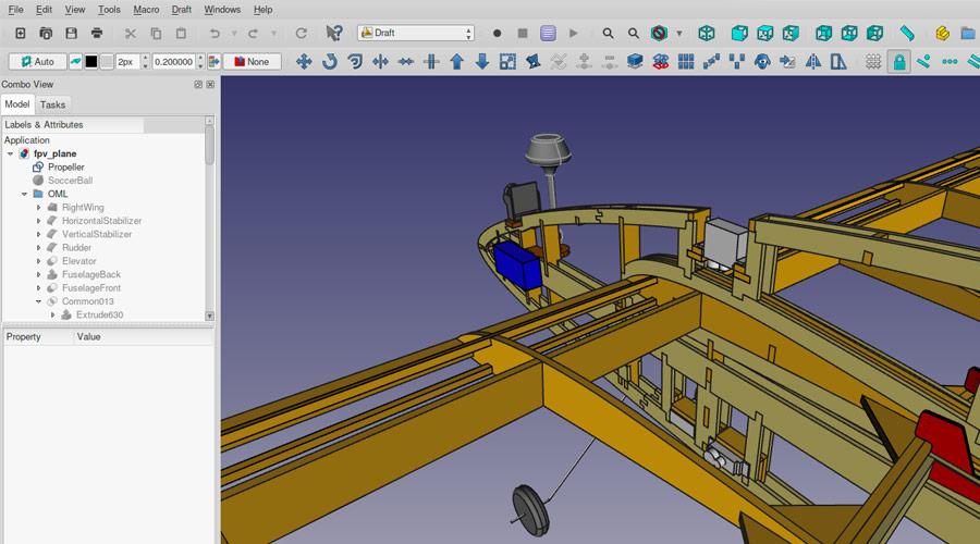 Programma gratuito per disegni tecnici in 2D 3D, per Windows Mac e Linux