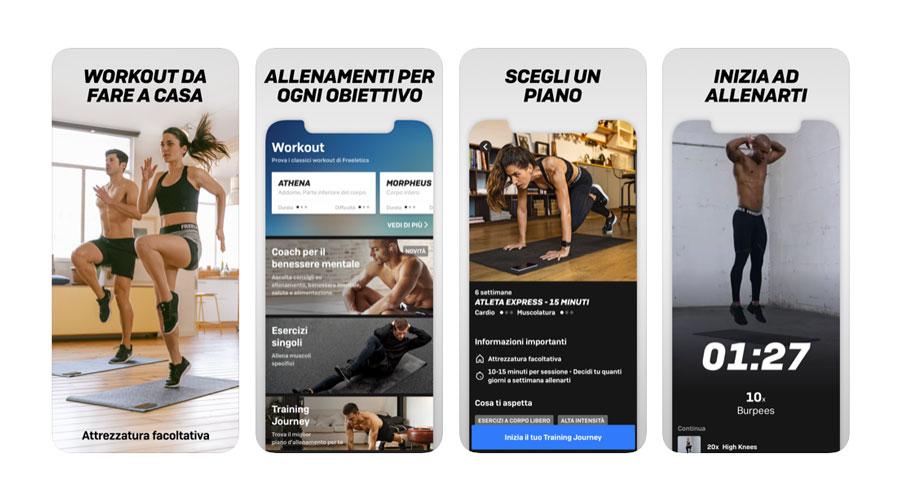 Freeletics per fare Crossfit e Calisthenics - App per iOS e Android