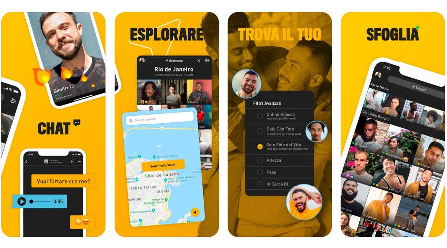 App per trovare e incontrare persone dello stesso sesso ed LGBTQI+