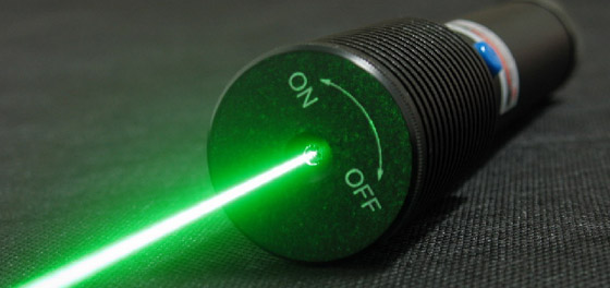 Penne laser potenti