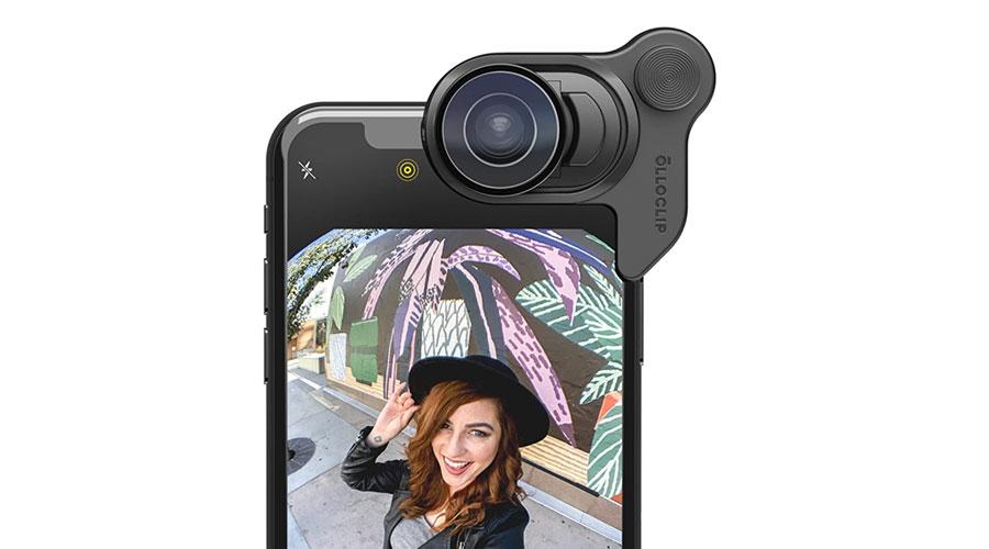 Set di lenti per iPhone intercambiabili con effetto Macro, Fisheye e Zoom