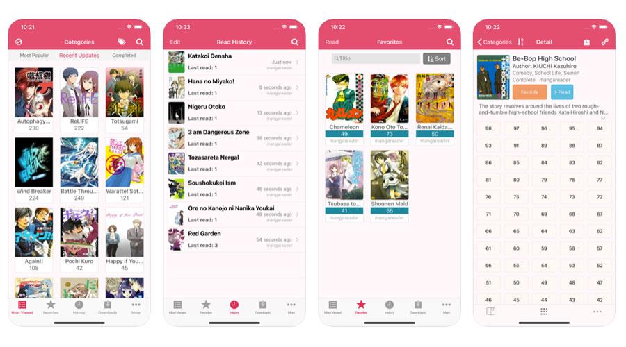 Manga Reader lettore online di manga