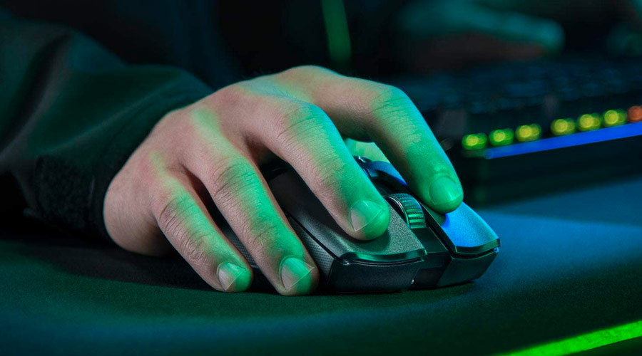 Mouse wireless da gaming