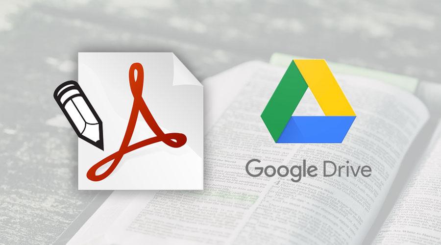 Modificare un PDF utilizzando Google Drive e Documenti di Google