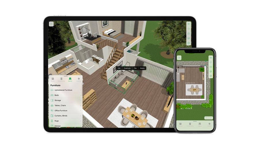 App per progettare casa e arredare gli interni gratuitamente