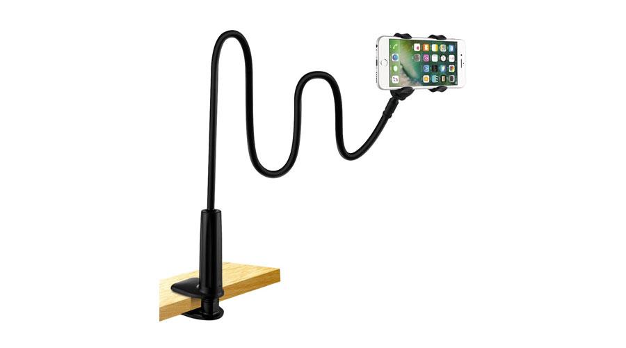Supporto iPhone snodabile, in tubo flessibile