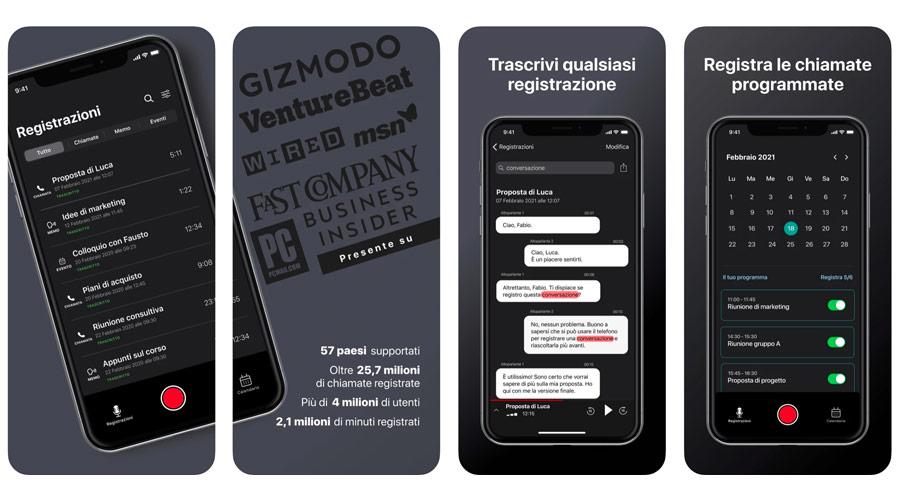 App per registrare chiamate, solo le migliori per Android e iOS