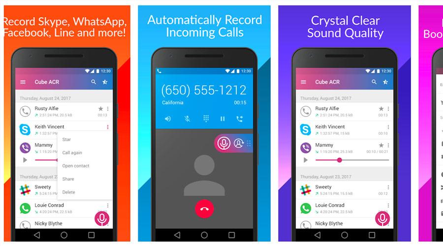 Registrare chiamate su Android con applicazioni di terze parti