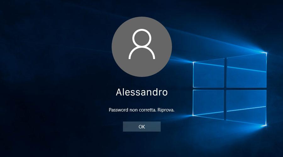 Come fare il reset della password di Windows 10