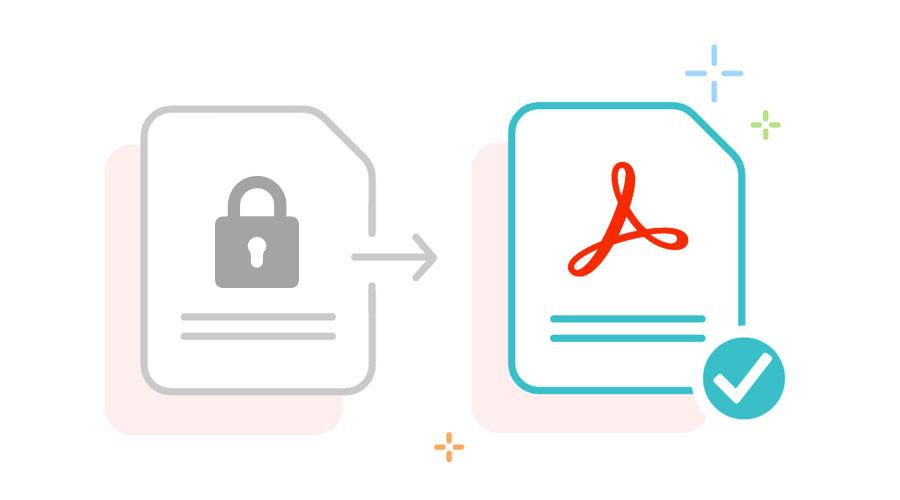 Cosa fare per sbloccare un PDF