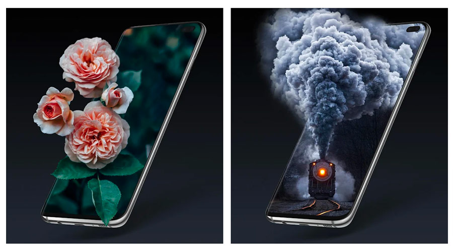 Sfondi 3D per iPhone ed Android