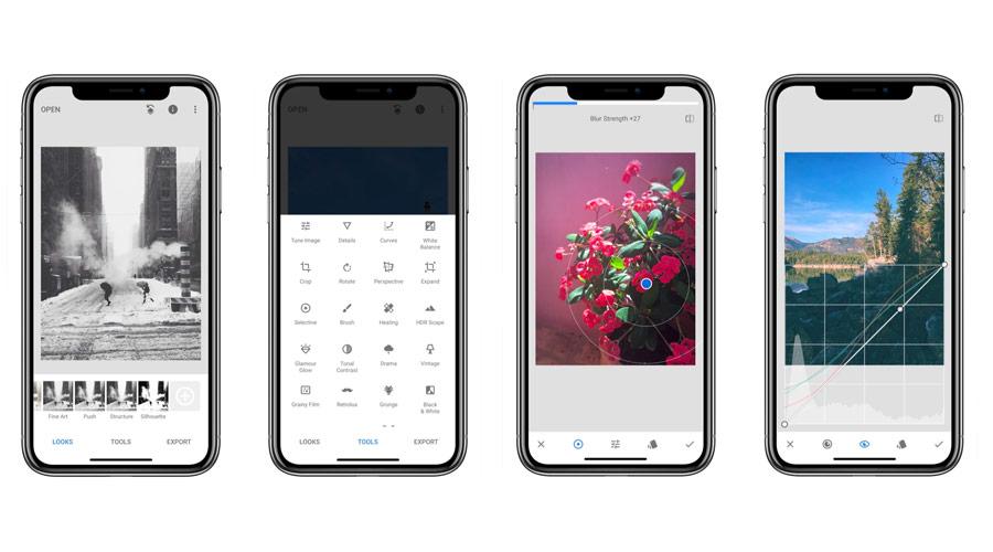 Snapseed per modificare volti e foto direttamente dallo smartphone