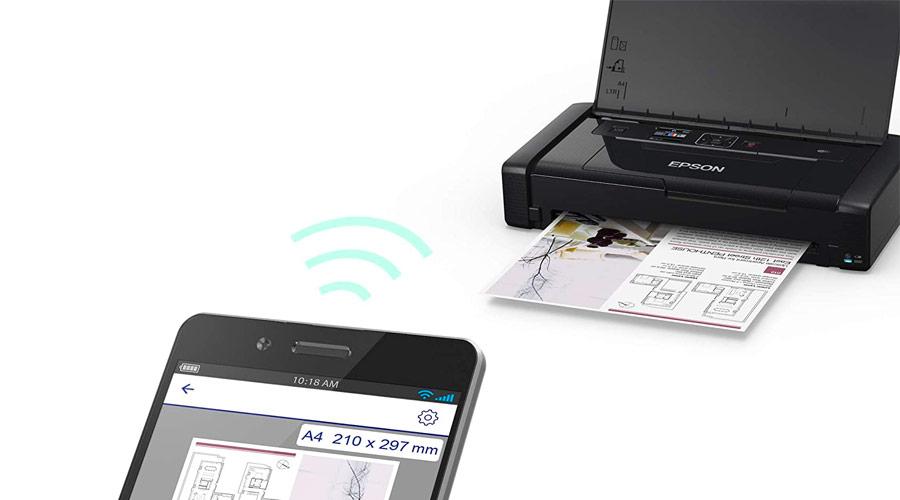 Stampante portatile per stampare da smartphone