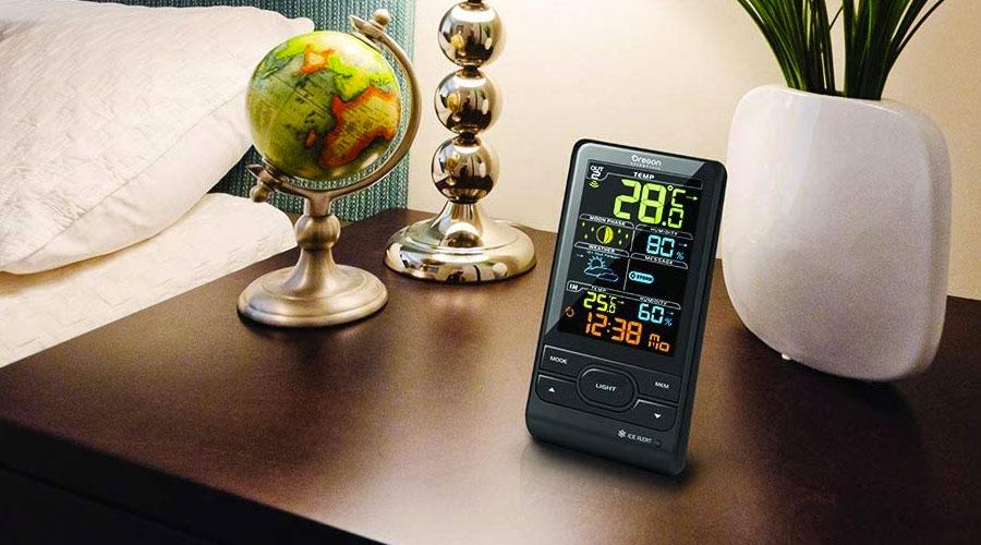 Stazione meteorologica per la casa (per monitorare temperatura e umidità | dentro e fuori)