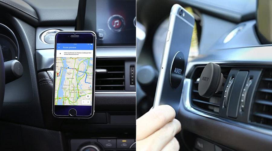 Porta iPhone auto magnetico