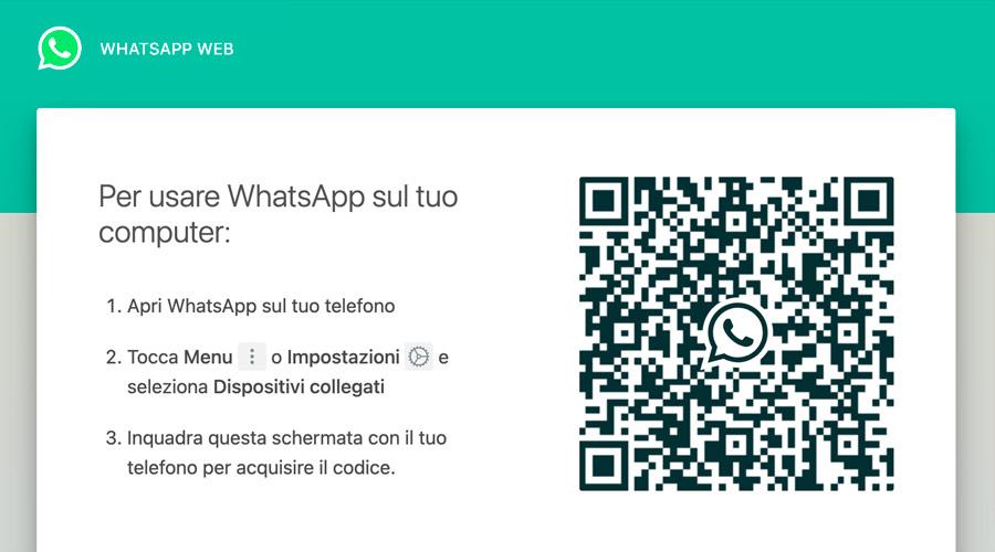 Accedere a WhatsApp dal Web tramite Browser