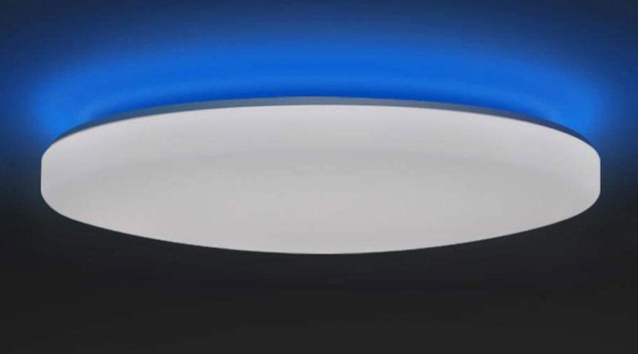 Lampada SMART da soffitto cambiacolore e temperatura colore